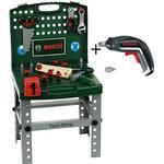 Toy Tools - Wood Bosch Arbetsbänk med Elektrisk Lxolino Skruvmejsel