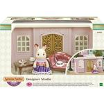 Doll-house Furniture - Plasti Sylvanian Families Designer Studio