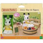 Shop Toys - Fabric Sylvanian Families Juice Bar & Figure
