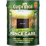 Cuprinol Less Mess Fence Care Wood Paint Brown 6L