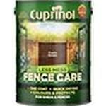 Cuprinol Less Mess Fence Care Wood Paint Brown 5L