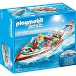 Toy Boat price comparison Playmobil Speedboat with Underwater Motor 9428