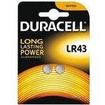 Button Cell - Watch Batteries Duracell LR43 Compatible 2-pack
