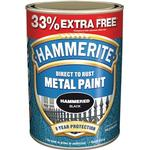 Metal Paint price comparison Hammerite Direct To Rust Hammer Metal Paint Black 0.75L
