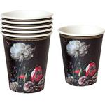 Talking Tables Paper Cup Party Porcelain Baroque 12-pack