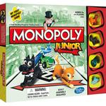 Childrens Board Games - Finance Monopoly: Junior
