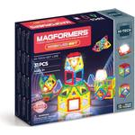 Construction Kit - Building Magformers Neon LED 31pc Set