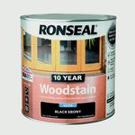 Paint price comparison Ronseal 10 Year Woodstain Black 0.75L