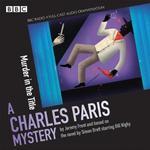 Charles paris books Charles Paris: Murder in the Title (Charles Paris Mysteries)