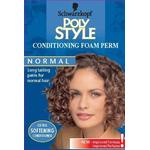 Perm Schwarzkopf Poly Style Conditioning Foam Perm for Normal Hair