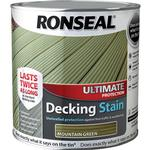 Glaze Paint price comparison Ronseal Ultimate Protection Decking Woodstain Green 2.5L