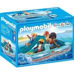 Toy Boat on sale Playmobil Paddle Boat 9424