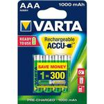 Batteries and Chargers price comparison Varta AAA Accu Rechargeable 1000mAh 4-pack