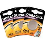 Button Cell Batteries price comparison Duracell CR1220