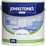Ceiling Paint price comparison Johnstones Silk Wall Paint, Ceiling Paint White 2.5L