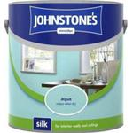 Ceiling Paint price comparison Johnstones Silk Wall Paint, Ceiling Paint Blue 2.5L