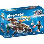 Toy Spaceship - Plasti Playmobil Sykronian Space Glider with Gene 9408