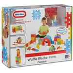 Blocks - Building Little Tikes Waffle Blocks Farm