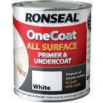 Metal Paint Metal Paint price comparison Ronseal One Coat All Surface Primer & Undercoat Wood Paint, Metal Paint White 0.75L