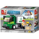 Blocks - Building Sluban Airport Cargo Van M38-B0368