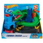 Car Track Set price comparison Mattel Hot Wheels City Cobra Crush Play Set
