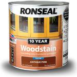 Glaze Paint price comparison Ronseal 10 Year Woodstain Brown 2.5L