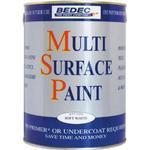 Metal Paint Bedec Multi Surface Wood Paint, Metal Paint Red 0.75L