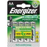 AA (LR6) - Camera Batteries Energizer AA Accu Power Plus 2000mAh Compatible 4-pack