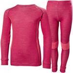 Base layer merino Children's Clothing price comparison Helly Hansen JR Lifa Merino Base Layer Set - Persian Red (48659-183)
