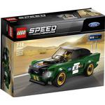 Plasti - Lego Speed Champions Lego Speed Champions 1968 Ford Mustang Fastback 75884