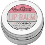 Lip Balm - Organic Ecooking Pomegranate Lip Balm 15ml