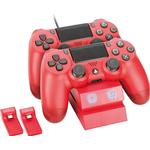 Venom Twin Docking Station for PlayStation 4 - Red