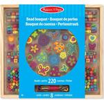 Beads - Wood Melissa & Doug Bead Bouquet Deluxe Set