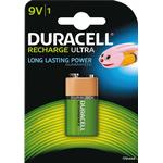 NiMH - Rechargeable Standard Batteries Duracell Recharge Ultra 9V