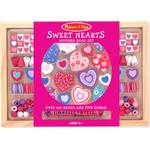 Beads - Wood Melissa & Doug Sweet Hearts Bead Set