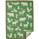 Baby Blankets Klippan Yllefabrik Forest Baby Blanket 65x90cm