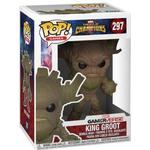 Guardians of the Galaxy - Figurines Funko Pop! Games Marvel Contest of Champions King Groot