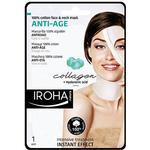 Sheet Mask - Hyaluronic Acid Iroha Anti-Age Face & Neck Sheet Mask Collagen 30ml