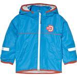 Reflectors - Rain jackets Children's Clothing Didriksons Viskan Kid's Jacket - Blue (181501718-332)