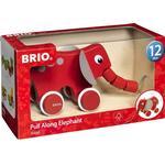 Animals - Pull Toys Brio Pull Along Elephant 30186