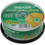 DVD Maxell DVD-R 4.7GB 16x Spindle 25-Pack (275520)