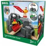 Wood - Toy Vehicles Brio Crane & Mountain Tunnel 33889