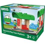 Train Track Extensions on sale Brio Record & Play Train Platform 33840