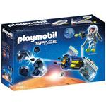 Outer Space - Play Set Playmobil Satellite Meteoroid Laser 9490