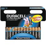 Alkaline - Camera Batteries Duracell Ultra Power AAA Compatible 12-pack