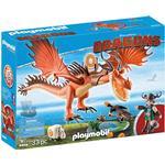 Play Set - Drakar Playmobil Snotlout & Hookfang 9459