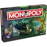 Card Games - Roll-and-Move USAopoly Monopoly: Ricky & Morty