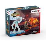 Figurines - Lion Schleich Battle for the Superweapon Frost Monster vs.Fire Lion 42455