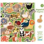 Magnetic Figures Djeco Magnets with Different Animals