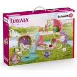 Play Set - Unicorn Schleich Glittering Flower House with Unicorns Lake & Stable 42445